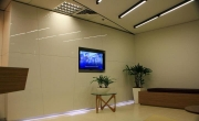 Office Reception – Wall Panelling
