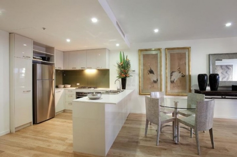 Tjngari Apartments – Kitchen