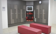 Gymnasium Fit Out – Change Room and Lockers